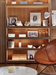 فروش انواع جدید کتابخانه خانگی چوبی