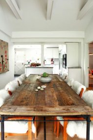 فروش انواع میز ناهارخوری با چوب