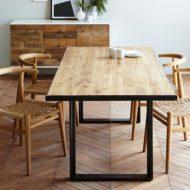 فروش انواع میز ناهار خوری با چوب