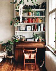 فروش کتابخانه خانگی و اداری چوبی