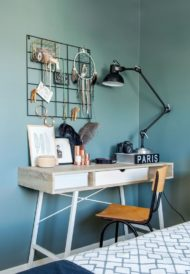 مدل های جدید میز تحریر و میز کار چوبی