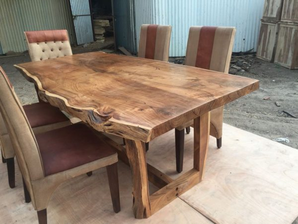 میز ناهار خوری چوب گردو درختی (10)