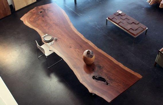 میز ناهار خوری چوب گردو درختی (2)