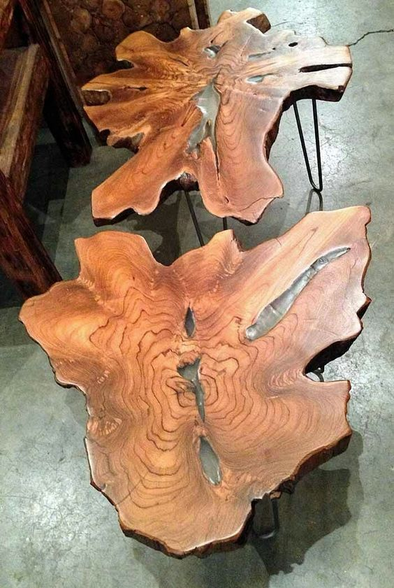 میز چوب و رزین (2)