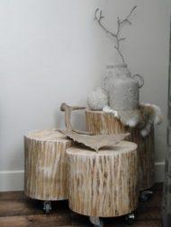 نمونه های شیک از میز پذیرایی مقابل مبل چوبی