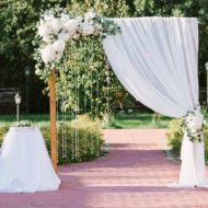 اجرا و طراحی باغ آتلیه عروس و داماد