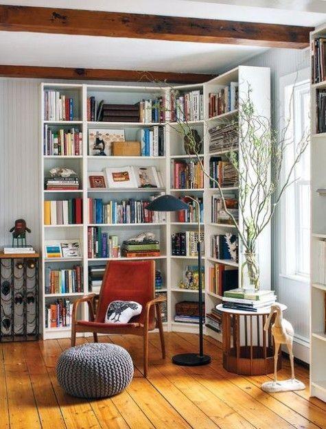 بهترین مدل های خانگی و ادارای کتابخانه های چوبی