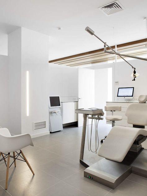 دکور مطب دندان پزشکی