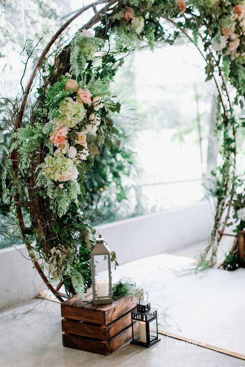 دیزاین و اجرای باغ آتلیه عروسی