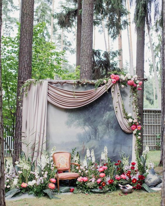 دیزاین و طراحی باغ آتلیه عکاسی