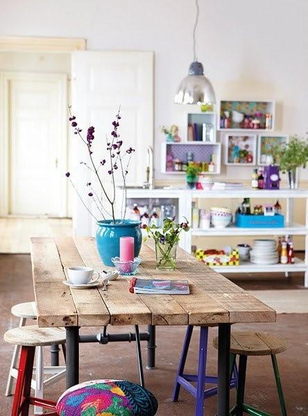 ساخت با کیفیت ترین میز های غذا خوری چوبی