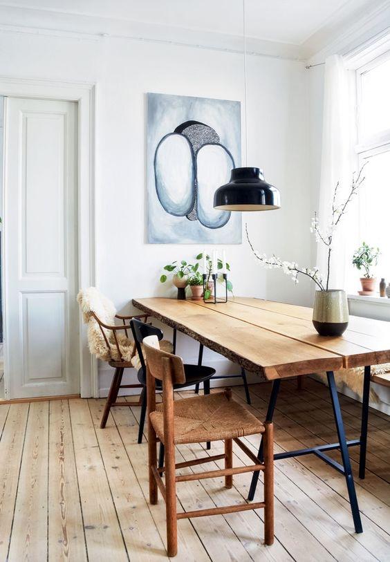 ساخت با کیفیت ترین میز های ناهار خوری با چوب طبیعی