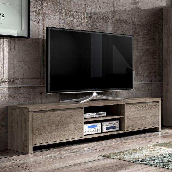 ساخت میز تلویزیون های با کیفیت چوبی