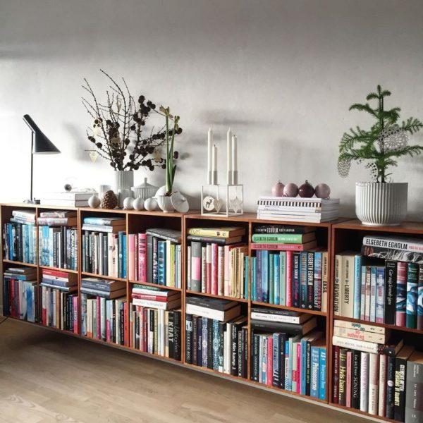 ساخت و سفارش کتابخانه خانگی چوبی