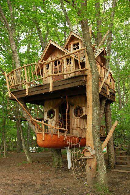 شرکت سازنده برای خانه درختی