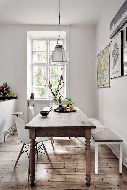 مدل های شیک و جدیدی از میز غذا خوری چوبی