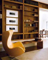 7 مدل جدید از کتابخانه چوبی