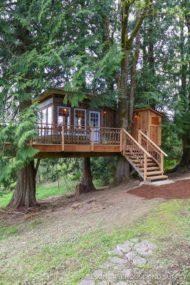 7 مدل خانه درختی در لواسان