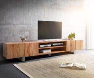 7 نمونه از میز تی وی چوبی