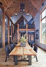 7 مدل جدید از میز ناهار خوری چوبی