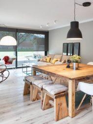 انواع مدل از میز غذا خوری چوبی