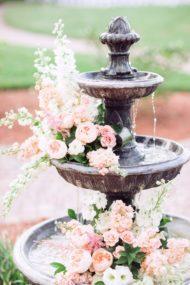 دیزاین باغ آتلیه برای عروسی