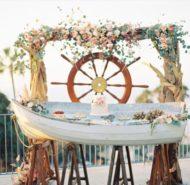 ساخت باغ آتلیه برای عروس و داماد