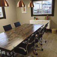 شرکت سازنده میز کنفرانس چوبی