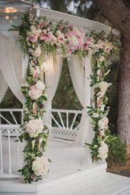 طراحی و اجرای باغ آتلیه برای عروسی