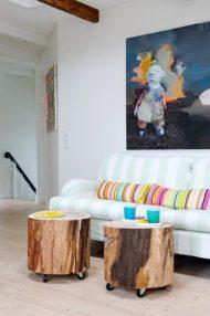 مدل جدید از میز مبلمان چوبی
