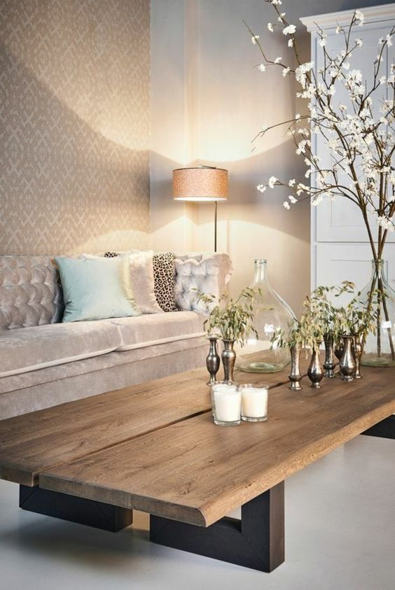 مدل های شیک و جدید میز مبلمان چوبی