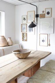 7 مدل جدید میز ناهار خوری چوبی
