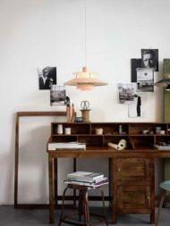 7 نمونه از میز تحریر چوبی
