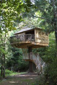 7 نمونه خانه درختی