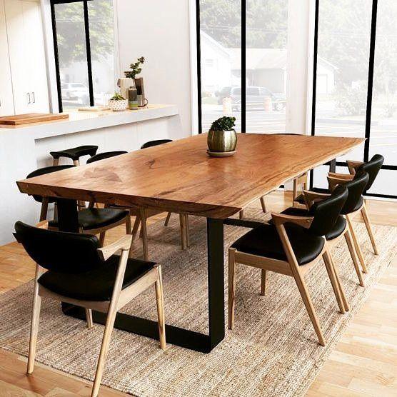 فروش مدل های جدید میز ناهار خوری روستیک با چوب طبیعی ، روستیک ایران (12)