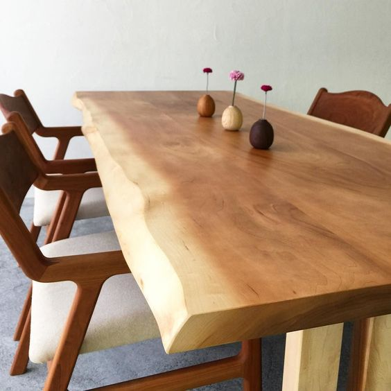 فروش مدل های جدید میز ناهار خوری روستیک با چوب طبیعی ، روستیک ایران (37)