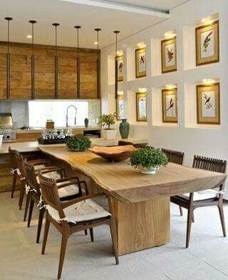 فروش مدل های جدید میز ناهار خوری روستیک با چوب طبیعی ، روستیک ایران (9)