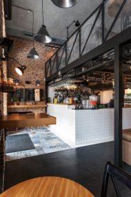 مدل دیزاین کافه و رستوران