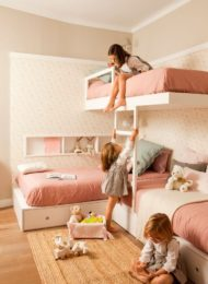 نمونه تخت خواب دو طبقه