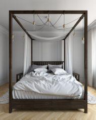 انواع مدل های از تخت خواب چوبی