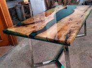 جدیدترین مدل ها از میز غذا خوری چوب و رزین
