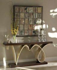 جدیدترین نمونه ها از میز کنسول چوبی