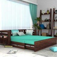 طرح و نمونه های تخت خواب چوبی