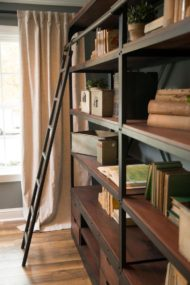 مدل های قفسه ترکیب چوب و فلز