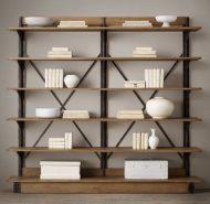 مدل های  قفسه و طبقه چوبی و فلزی