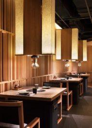 نمونه طراحی دکوراسیون کافه و رستوران