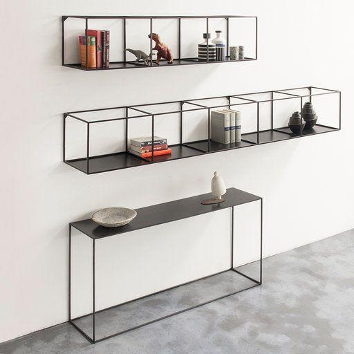 8 نمونه قفسه چوب و فلز مدرن (1)