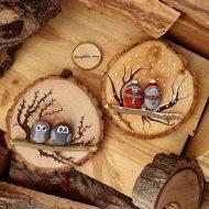 آموزش ساخت تابلو چوبی