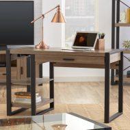 مدل های جدید میز تحریر ترکیب چوب و فلز