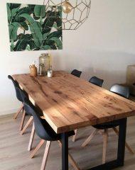 سفارش ساخت میز ناهار خوری چوبی